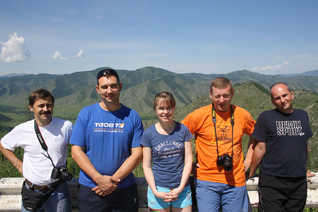 М 52 алтайские горы перевал чике таман